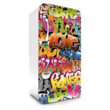 Fridge Sticker Graffiti (FR-120-015 - 65 x 120 cm)