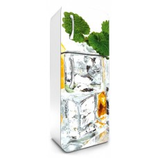 Fridge Sticker Ice Cubes (FR-180-023 - 65 x 180 cm)