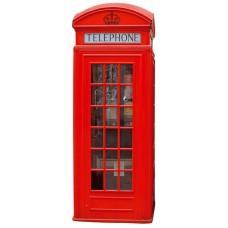 Wall Sticker British Phone Box (ST2 009 - 65 x 165 cm)