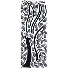 Wall Sticker Abstract Tree (ST2 020 - 65 x 165 cm)
